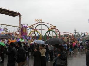 Oktoberfest by rain