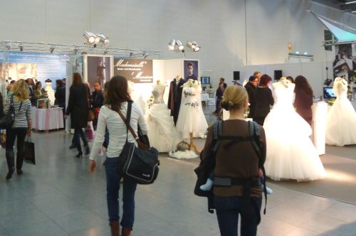 "At the wedding fair ""Wir heiraten!"""