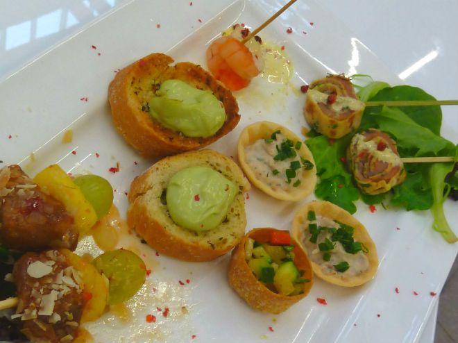 """Finger food from """"Uwe Förster"""""""