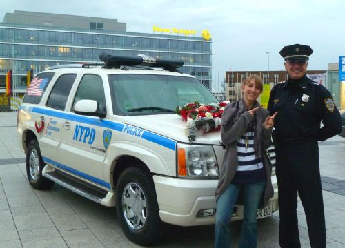 NYPD car for special occasions