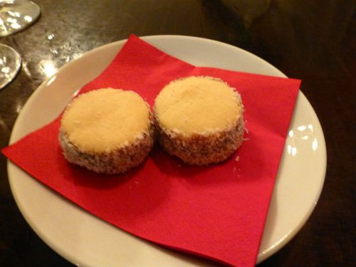 Our dessert: Alfajor de Maizena