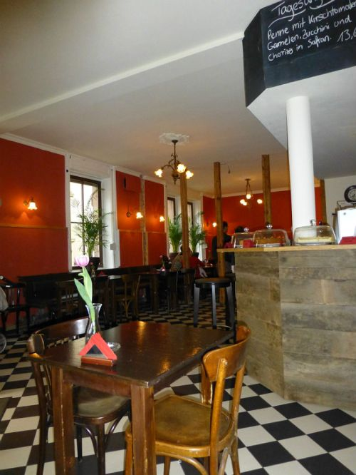Inside Café Chiquilin