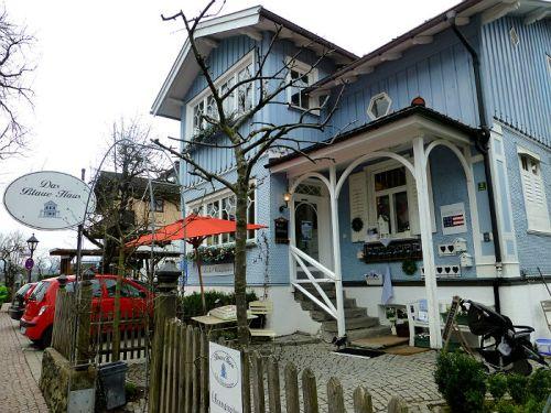 Das Blaue Haus (the blue house) in Oberstaufen