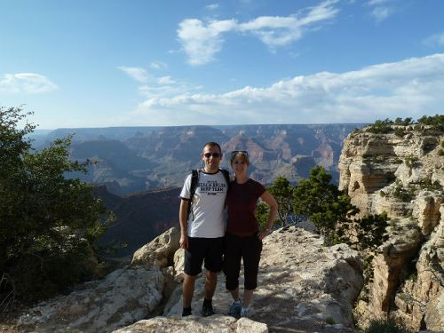 Hiking at the Grand Canyon