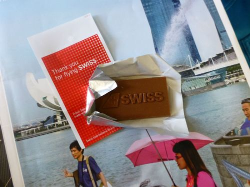 Swiss Air chocolate