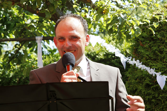 Oliver Bisanz speaking