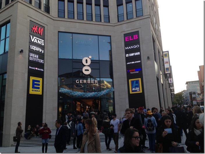 New shopping center, No. 1: Gerber