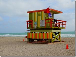 miami beach life guard hut 3