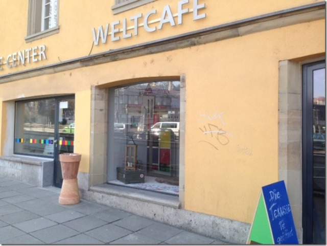 Weltcafe in Stuttgart