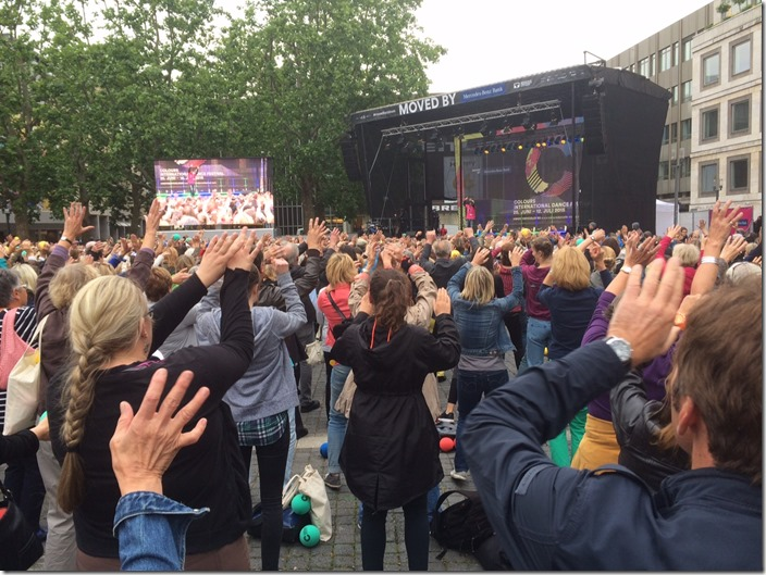 Colours International Dance Festival 2015 pre-opening event at Marktplatz