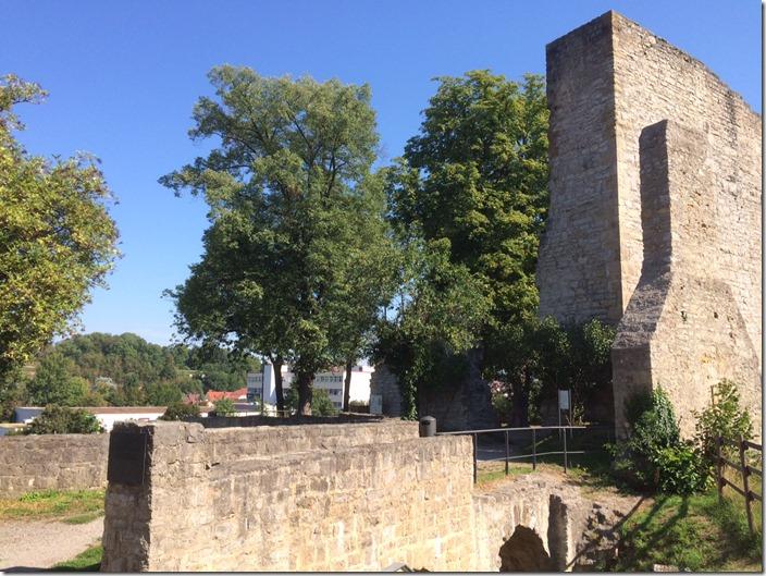 Castle Hofen in Stuttgart 1