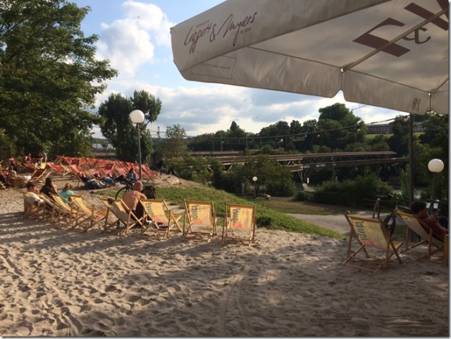 Stuttgart has a beach! Check out Stadtstrand close to the Neckar.