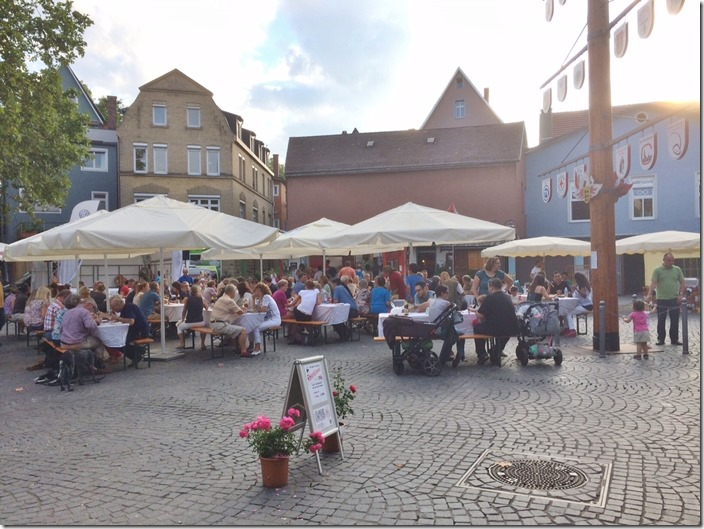 Evening Market in Bad Cannstatt